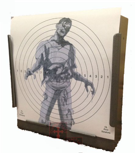 100 x 14cm SG Zombie Paper Targets Air Rifle Pistol (100gsm 14cm11 from CL Print Solutions