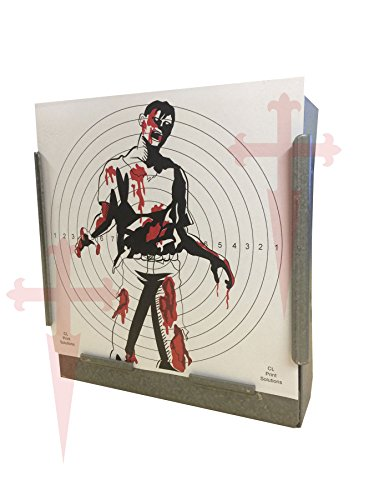 100 x 17cm Colour SG Zombie Paper Targets (100gsm from CL Print Solutions
