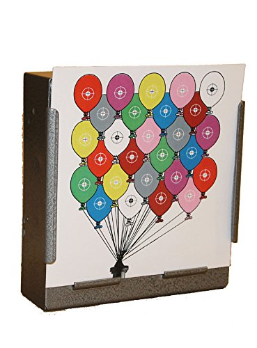 100 x 17cm Coloured Balloons Paper Targets Air Rifle Pistol (100gsm from CL Print Solutions
