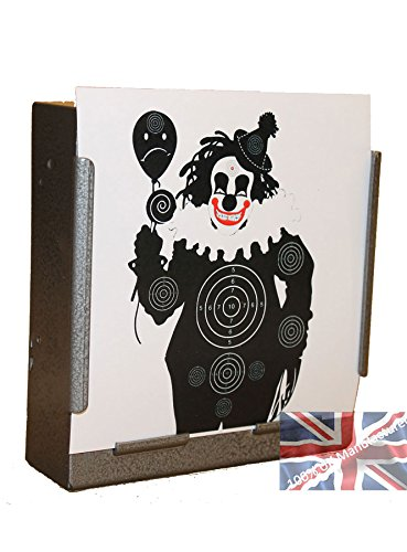 100 x 17cm Evil Clown Paper Targets Air Rifle Pistol (100gsm from CL Print Solutions