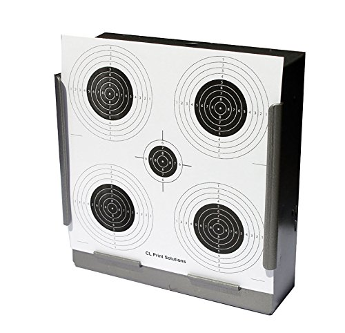 100 x 17cm Five Circle Paper Targets Air Rifle Pistol (100gsm from CL Print Solutions
