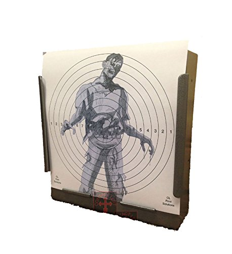 100 x 17cm SG Zombie Paper Targets Air Rifle Pistol (100gsm from CL Print Solutions