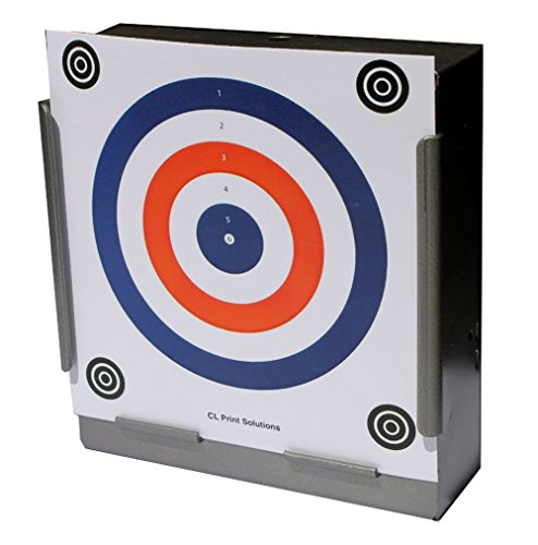 170GSM 100 x 14cm 2 Colour Card Targets Air Rifle Pistol 14cm12 from CL Print Solutions