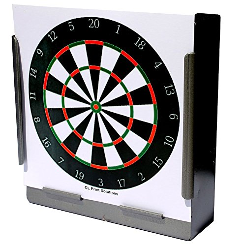 170GSM 100 x 14cm Card Full Colour Dart Board Targets Air Rifle Pistol 14cm10 from CL Print Solutions