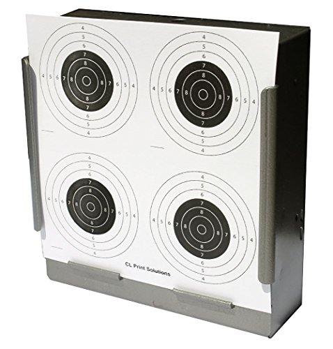 170GSM 100 x 14cm Four Circle Card Targets Air Rifle Pistol 14cm13 from CL Print Solutions