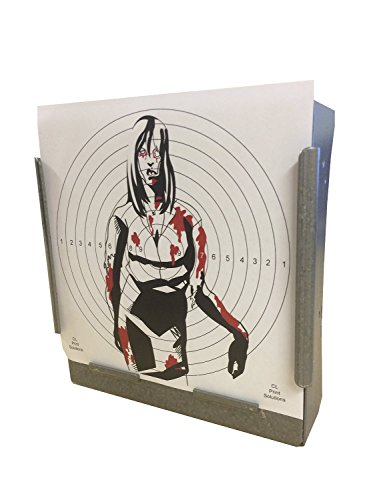 170GSM 100 x 14cm SG FEMALE Zombie Card Targets Air Rifle Pistol 14cm17 from CL Print Solutions