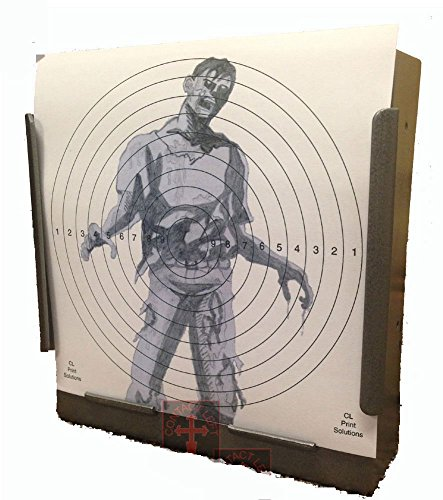 170GSM 100 x 14cm SG Zombie Card Targets Air Rifle Pistol 14cm11 from CL Print Solutions
