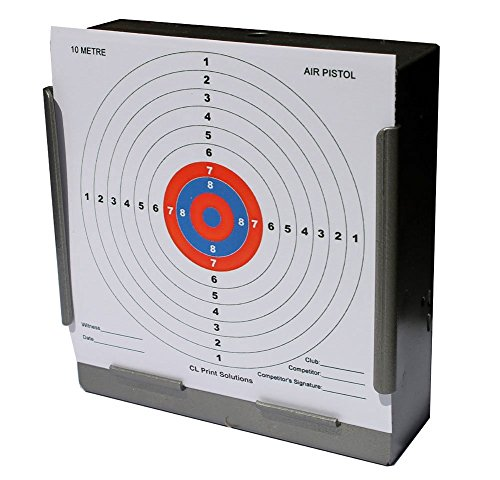 275gsm 100 x 14cm 10 Metre Air Pistol Competition Card Targets 14cm14 from CL Print Solutions