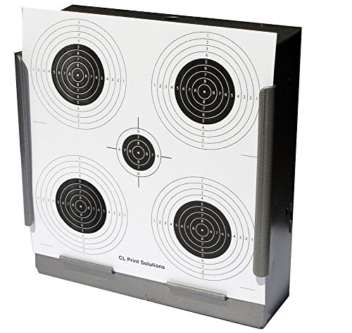 275gsm 100 x 14cm Five Circle Competition Card Targets Air Rifle Pistol 14cm15 from CL Print Solutions