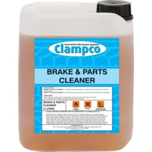 BR606 BRAKE PARTS & CLUTCH CLEANER DEGREASER FLUID 5 LITRE from CLAMPCO