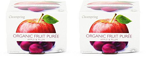 (2 Pack) - Clearspring - Fruit Puree Apple & Plum | 2 X100g | 2 PACK BUNDLE from CLEARSPRING WHOLEFOODS