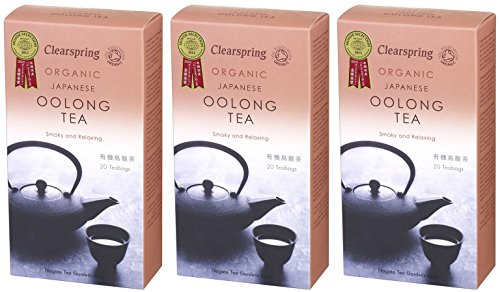 (3 PACK) - Clearspring - Oolong Tea Bags | 40g | 3 PACK BUNDLE from CLEARSPRING WHOLEFOODS