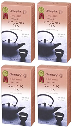 (4 PACK) - Clearspring - Oolong Tea Bags | 40g | 4 PACK BUNDLE from CLEARSPRING WHOLEFOODS