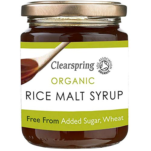 (4 PACK) - Clearspring - Organic Rice Malt Syrup | 330g | 4 PACK BUNDLE from CLEARSPRING WHOLEFOODS