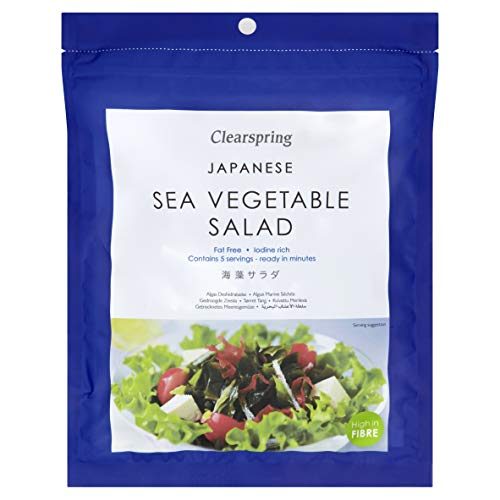 (4 PACK) - Clearspring - Sea Vegetable Salad | 25g | 4 PACK BUNDLE from CLEARSPRING WHOLEFOODS