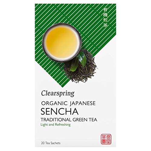 (Pack Of 6) Clearspring Wholefoods - Organic Sencha Green Tea Bags - Box - (20x2g) from CLEARSPRING WHOLEFOODS