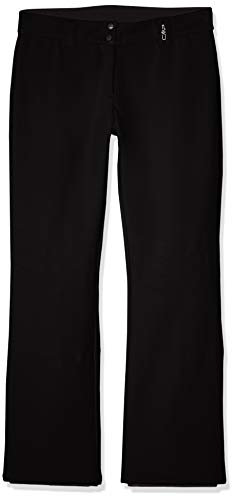 CMP Women's Long Trousers, Nero, 44 from CMP