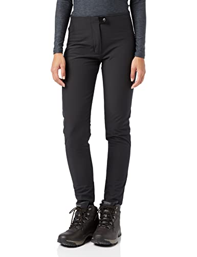 CMP 3A09676 Women's Trousers, Womens, Pants, 3A09676, Black, 46 from CMP