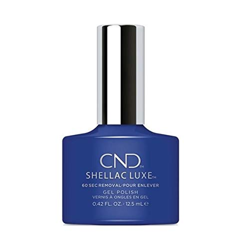 CND SHELLAC LUXE Nail Polish, Blue Eyeshadow from CND