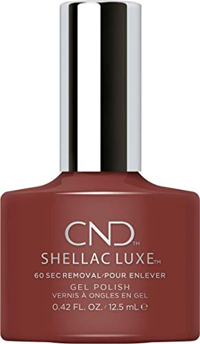 CND SHELLAC LUXE Nail Polish, Oxblood from CND