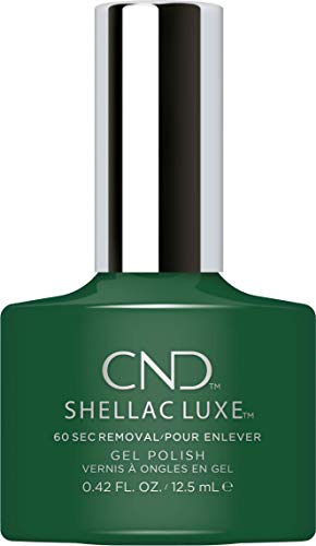 CND SHELLAC LUXE Nail Polish, Palm Deco from CND