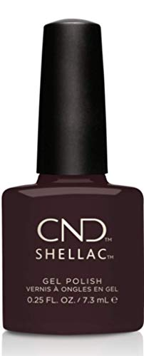 CND Shellac Nail Polish, Dark Dahlia 1er Pack (1 x 7.3 ml) from CND