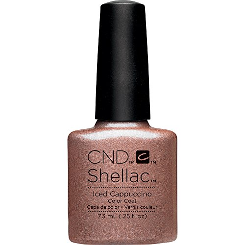 CND Shellac Nail Polish, Iced Cappuccino from CND