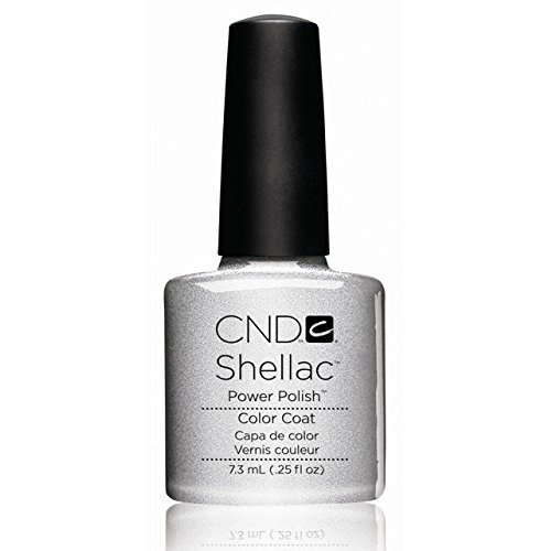 CND Shellac Silver Chrome Gel Polish CNDNEWCAT100 from CND