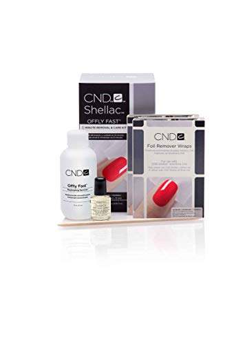 CND Treatments Nail Polish, Offly Fast 8 Minute Removal and Care Kit from CND