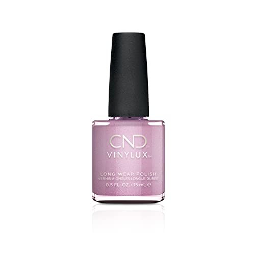 CND Vinylux Long Wear Nail Polish (No Lamp Required), 15 ml, Purple, Bekoning Begonia from CND