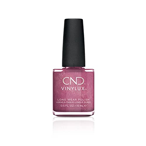 CND Vinylux Long Wear Nail Polish (No Lamp Required), 15 ml, Pink, Sultry Sunset from CND