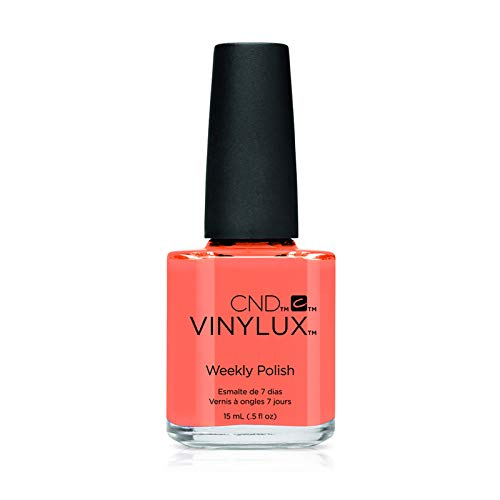 CND Vinylux Long Wear Nail Polish (No Lamp Required), 15 ml, Orange, Shells in the Sand from CND
