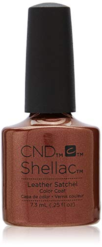 NEW Autumn/Winter 2016 CND Shellac Craft Culture Collection - 6 Brand New Colours to Choose From (Leather Satchel) from CND