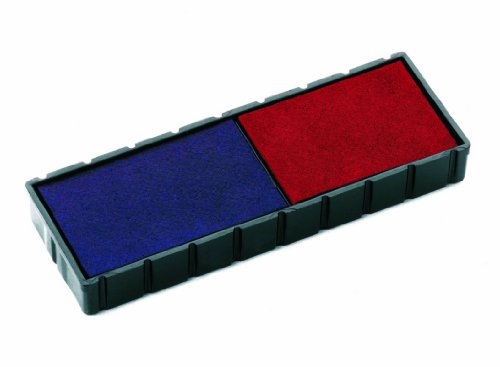 Colop E/12/2 Stamp Pads for S120/WD Blue/Red Ref E/12/2 [Pack of 2] from Colop