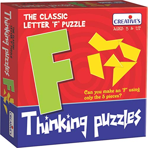 Creative Educational Letter F Creative Pre-School Thinking Puzzles from Creative Educational