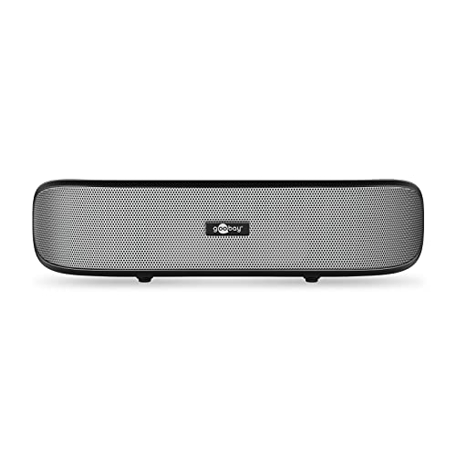 Goobay SoundBar - Stereo Speaker with USB Plug 'n Play and AUX-in, black from goobay