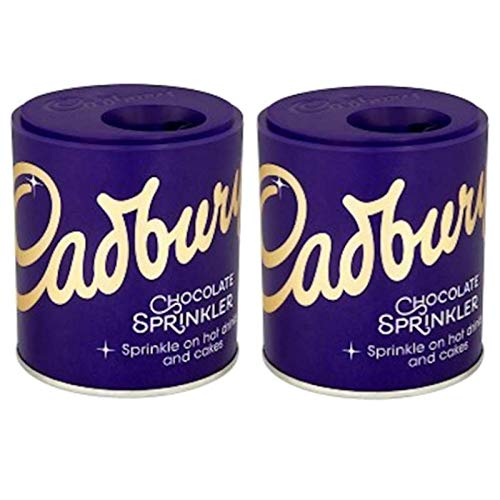 2 X Cadbury Sprinkler - To Sprinkle On Top Of Coffee And Hot Chocolate from Cadbury