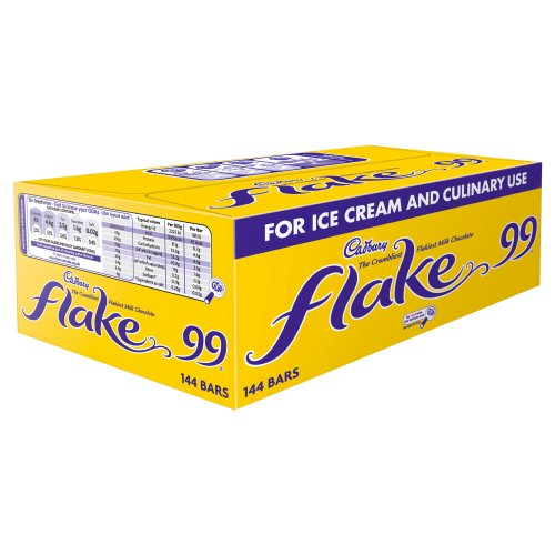 Cadbury Flake 99 Single Bar (Pack of 144) from Cadbury