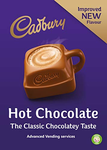 INCUP CADBURYS HOT CHOCOLATE FOR 73mm IN-CUP VENDING MACHINES INCUP DRINKS x 300 CUPS from Cadbury