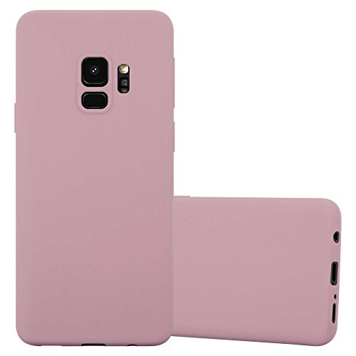 Cadorabo Case works with Samsung Galaxy S9 in CANDY PINK - Shockproof and Scratch Resistant TPU Silicone Cover - Ultra Slim Protective Gel Shell Bumper Back Skin from Cadorabo
