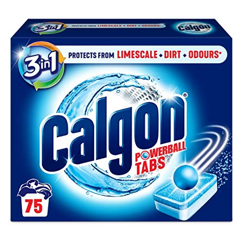 Calgon 3-in-1 Washing Machine Water Softener Tablets, 75 Tabs from Calgon