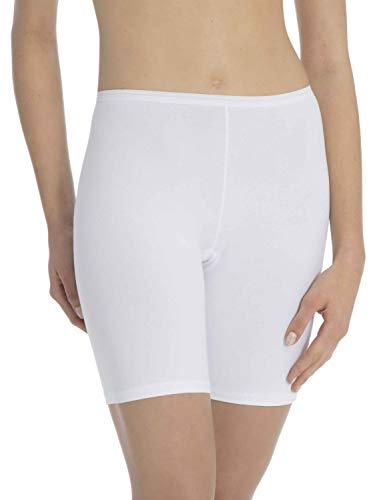 Calida Women's Comfort Boy Short, White (Weiss 001), 18 (Size: Medium) from Calida