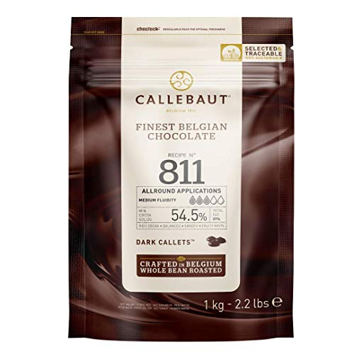 Callebaut Select 811 Dark Chocolate Callets 1 kg from Callebaut