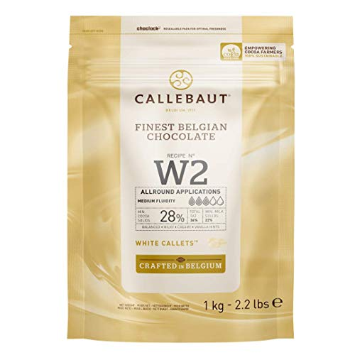 Callebaut Select W2 White Chocolate Callets 1 kg from Callebaut