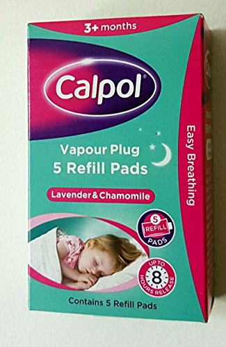 THREE PACKS of Calpol Vapour Plug In Refills 5 Refills from Calpol
