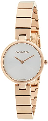 Calvin Klein Women's Analogue Quartz Watch with Stainless Steel Strap K8G23646 from Calvin Klein