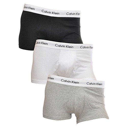 Calvin Klein Men's Plain Boxers Multicolour Multicoloured - Multicolour - X-Large from Calvin Klein