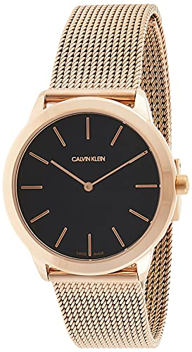 Calvin Klein Womens Analogue Quartz Watch with Stainless Steel Strap K3M2262Y from Calvin Klein