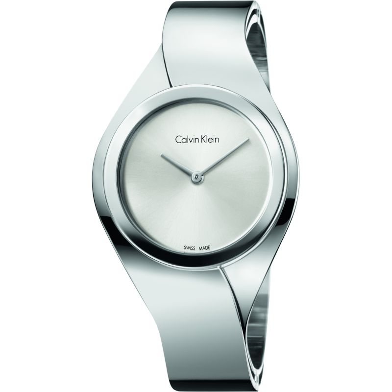 Ladies Calvin Klein Senses Medium Bangle Watch from Calvin Klein