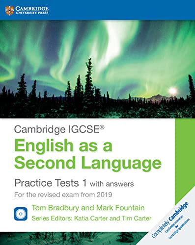 Cambridge IGCSE English as a Second Language Practice Tests 1 with Answers and Audio CDs (2): For the Revised Exam from 2019 (Cambridge International IGCSE) from Cambridge University Press